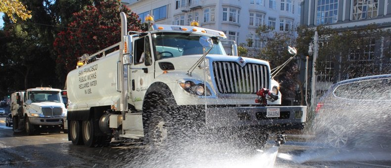 SF Street Cleaning map